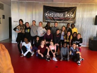 Trip to Dance Lab hip hop class